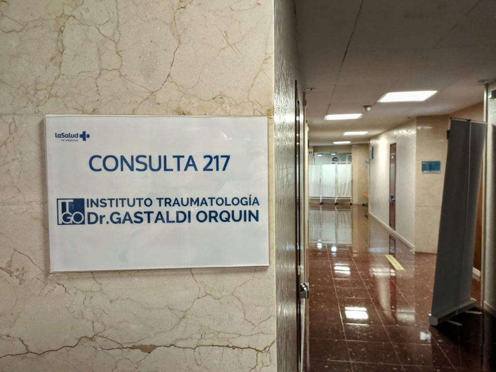 La nueva consulta del Instituto Gastaldi es la 217 en el Hospital La Salud