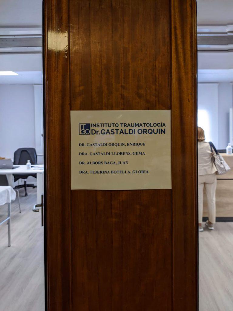 Los médicos especialistas del Instituto de Traumatología Dr. Gastaldi Orquin
